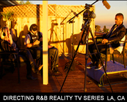 DIRECTING R&B REALITY TV